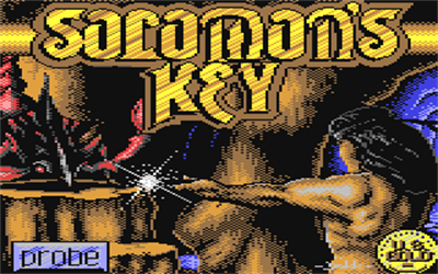 Solomon's Key - Screenshot - Game Title