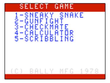 Sneaky Snake - Screenshot - Game Title