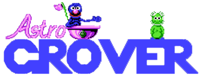 Astro Grover - Clear Logo