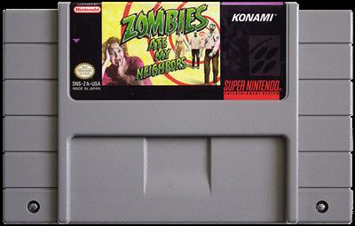 Zombies Ate My Neighbors - Fanart - Cart - Front