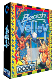 Beach Volley - Box - 3D