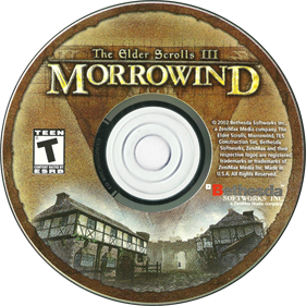 The Elder Scrolls III: Morrowind - Disc