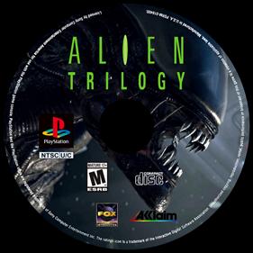 Alien Trilogy - Fanart - Disc