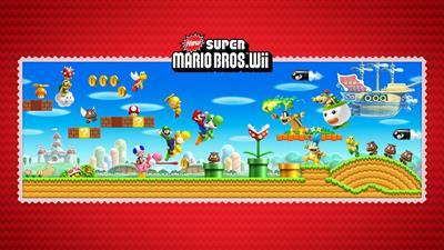 New Super Mario Bros. Wii - Fanart - Background