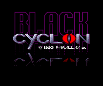 Black Cyclon - Screenshot - Game Title