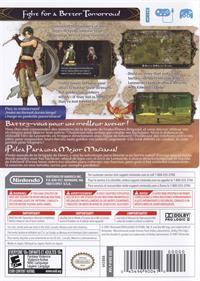 Fire Emblem: Radiant Dawn - Box - Back