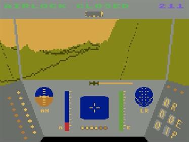 Rescue on Fractalus! - Screenshot - Gameplay