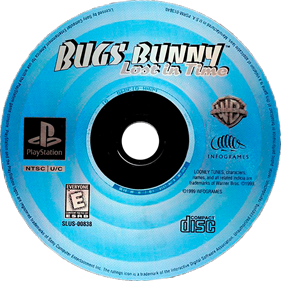 Bugs Bunny: Lost in Time - Disc