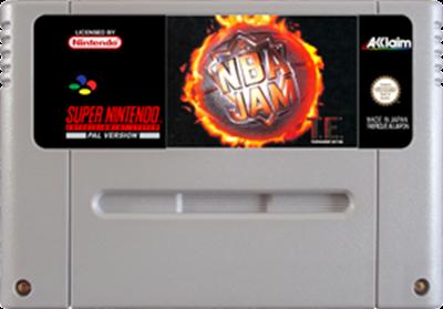 NBA Jam Tournament Edition - Fanart - Cart - Front