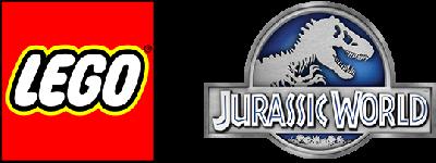 LEGO Jurassic World - Clear Logo