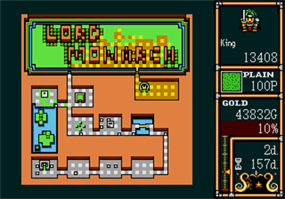Lord Monarch: Tokoton Sentou Densetsu - Screenshot - Gameplay