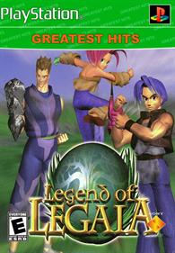 Legend of Legaia - Fanart - Box - Front