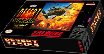 Desert Strike: Return to the Gulf - Box - 3D
