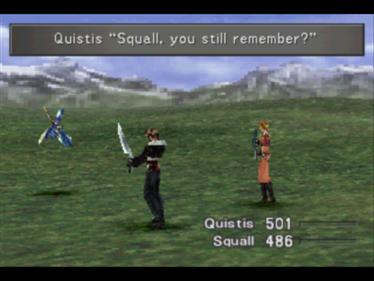 Final Fantasy VIII - Screenshot - Gameplay