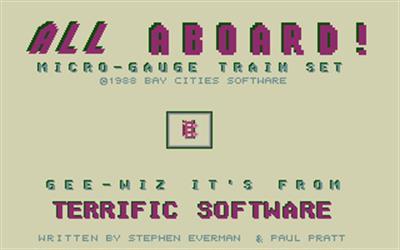 All Aboard! Microgauge Train Set - Screenshot - Game Title