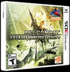 Ace Combat: Assault Horizon Legacy+ - Box - 3D