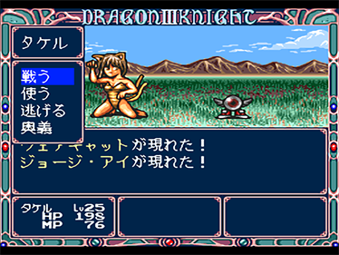 Dragon Knight 3 - Screenshot - Gameplay