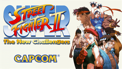 Super Street Fighter II: The New Challengers - Fanart - Background