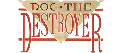 Doc the Destroyer - Clear Logo