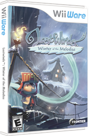 LostWinds: Winter of the Melodias - Box - 3D