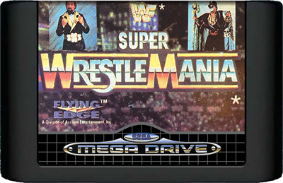 WWF Super WrestleMania - Cart - Front