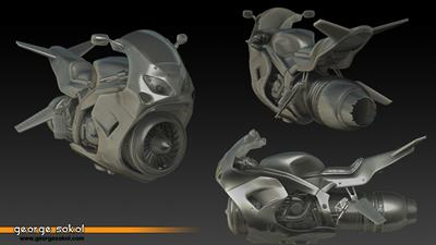 Jet Moto 2 - Fanart - Background