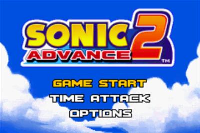 Sonic Advance 2 - Screenshot - Game Select