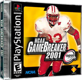 NCAA GameBreaker 2001 - Box - 3D