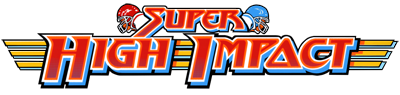 Super High Impact - Clear Logo
