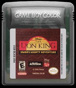 Disney's The Lion King: Simba's Mighty Adventure - Fanart - Cart - Front