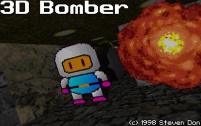 3D Bomber - Screenshot - Game Title