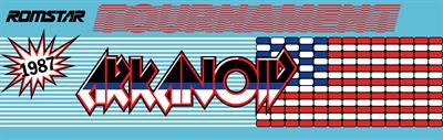 Tournament Arkanoid - Arcade - Marquee