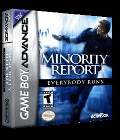 Minority Report: Everybody Runs - Box - 3D