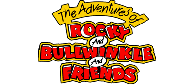 The Adventures of Rocky and Bullwinkle and Friends - Clear Logo