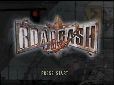 Road Rash 64 - Screenshot - Game Title