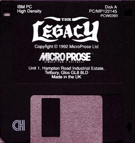 The Legacy: Realm of Terror - Disc