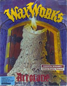 WaxWorks - Box - Front