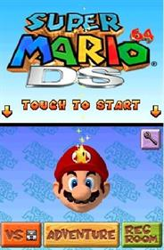 Super Mario 64 DS - Screenshot - Game Title