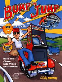 Bump 'n' Jump - Advertisement Flyer - Front