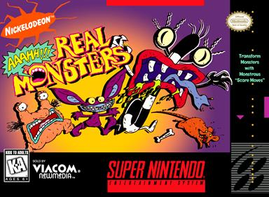 AAAHH!!! Real Monsters - Box - Front