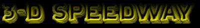 3-D Speedway - Clear Logo