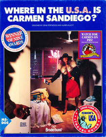 Where in the USA is Carmen Sandiego? Enhanced