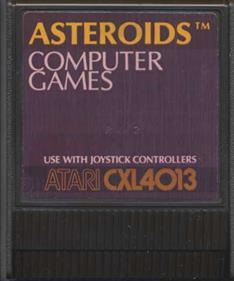 Asteroids - Cart - Front