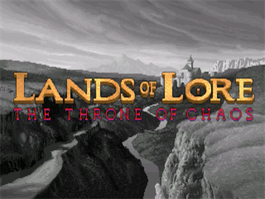Lands of Lore: The Throne of Chaos - Screenshot - Game Title