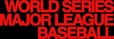 World Series Major League Baseball - Clear Logo