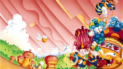 Wonder Boy III: Monster Lair - Fanart - Background