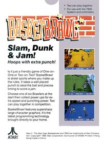 Basketbrawl - Box - Back