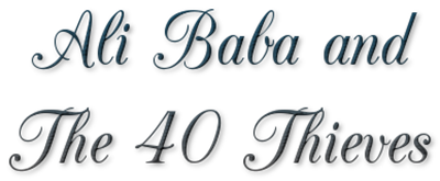 Ali Baba and the Forty Thieves - Clear Logo