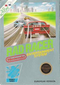 Rad Racer - Box - Front