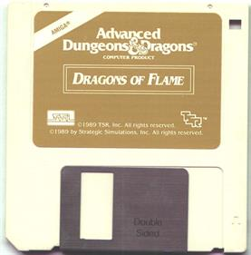 Dragons of Flame - Disc